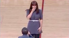 Marriage Proposal Rejected At Game