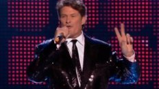 The Hoff Drunk at EMA's 09