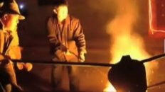 Molten Iron Throwing