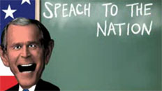 """Speach"" to the Nation"