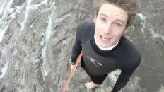 GoPro HD - Skimboarding In A Storm!
