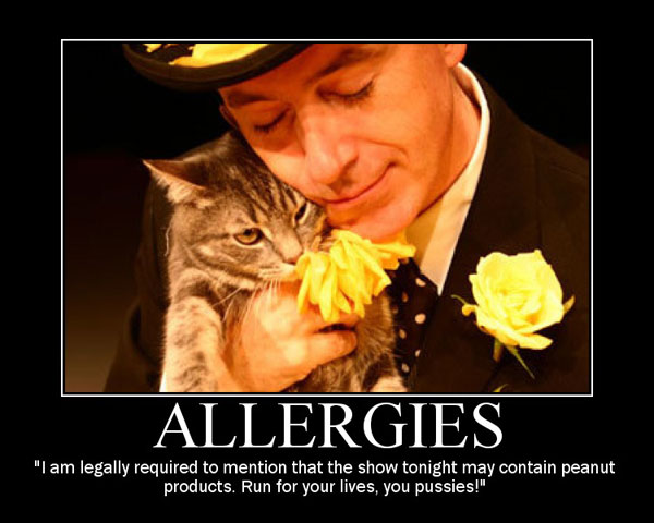 Funny Quotes About Allergies: Exclusive > Stephen Colbert De-Motivational Posters